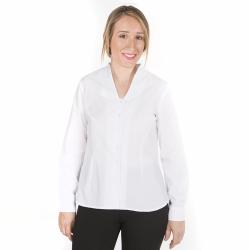 camisa-blanca-camarera-cuello-chimenea