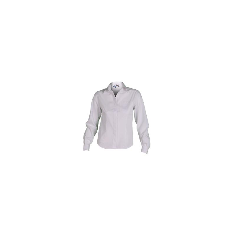 camisa-camarera-blanca-manga-larga--boton-oculto