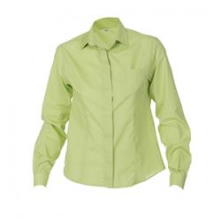 camisa-camarera-colores-manga-larga-boton-oculto