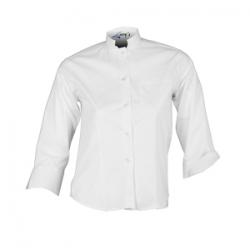 camisa-blanca-camarera-media-manga