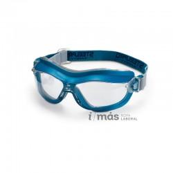 Gafa de protección con ocular claro y montura integral