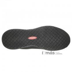 Zapatilla Skechers Work certificada como antideslizante con diseño deportivo casual