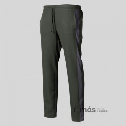 Pantalón en microfibra 360 elástico con bajo pitillo a juego con casacas de microfibra vigoré