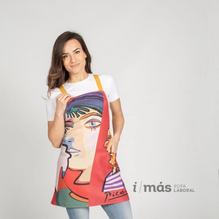 Casulla estampada con diseño de Picasso para amantes de las clases de arte