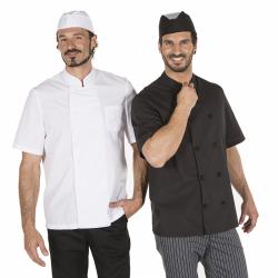chaqueta-cocina-unisex-popelin-manga-corta