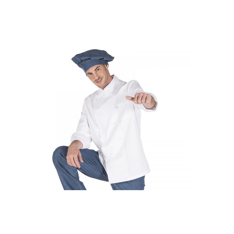 chaqueta-cocina-unisex-boton-forrado-manga-larga