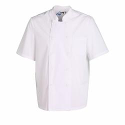 chaqueta-cocina-unisex-plana-manga-corta