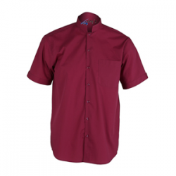 camisa-camarero-colores-cuello-mao-manga-corta