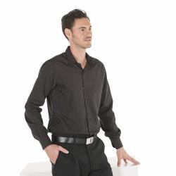 camisa-camarero-slim-fit-negra-y-gris-marengo-neri