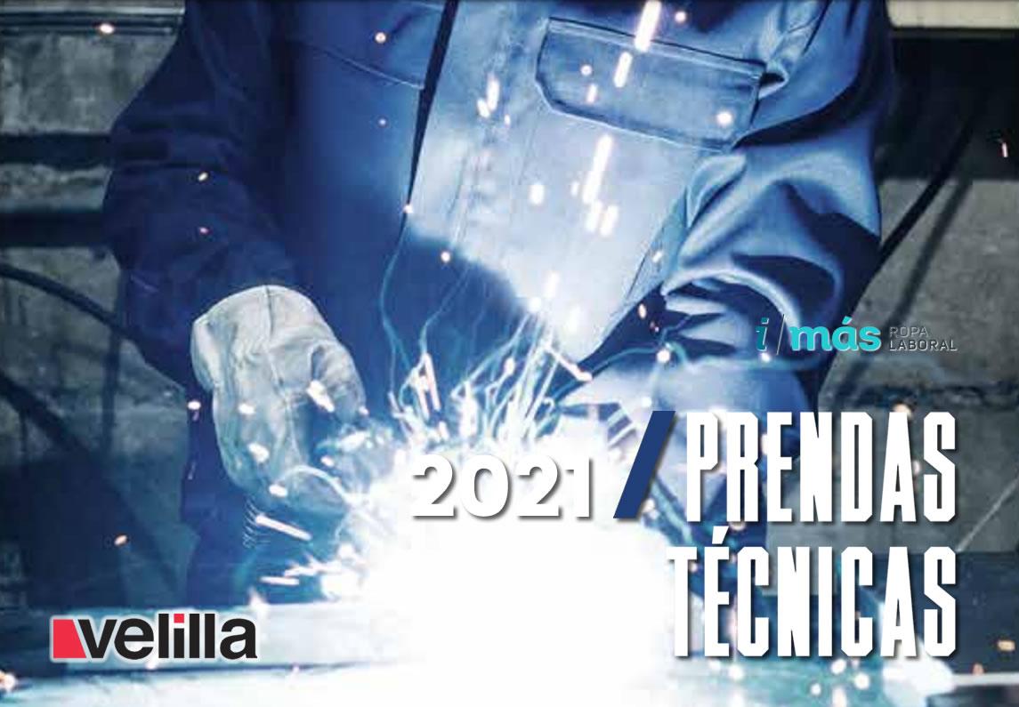 Descargar catálogo Velilla Prendas técnicas 2021