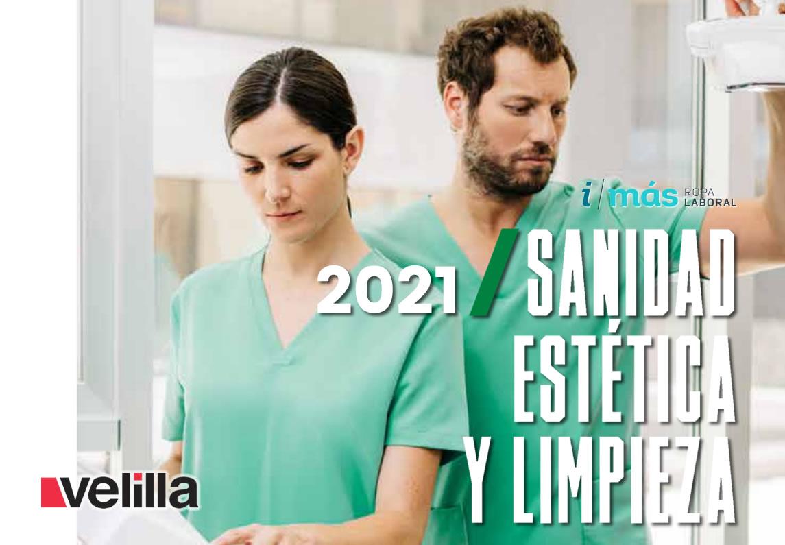 Descargar catálogo Velilla Sanidad, estética y limpieza 2021